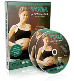 The yoga of pregnancy DVD by Mel Campbell