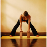 yoga in pregnancy Prasarita Padottanasana