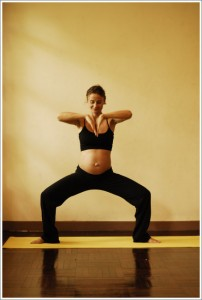 5c utkata konasana the goddess flow - first trimester
