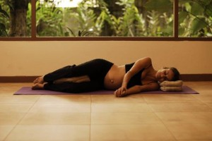 5 Savasana - third trimester