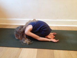 child's pose sensory benefits
